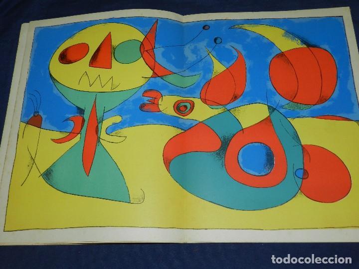 Libros antiguos: (M) JOAN MIRO - ARTIGAS - DERRIERE LE MIROIR , JACQUES PREVERT , NUM 87-88-89 1956 - Foto 7 - 107023767
