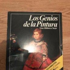 Libros antiguos: LOS GENIOS DE LA PINTURA.. Lote 107321819