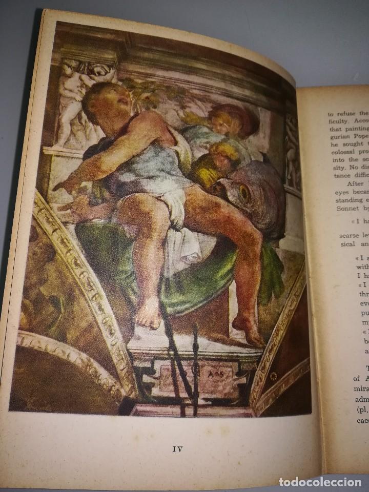 Libros antiguos: Michelangelo, pequeño libro muy ilustrado - Foto 4 - 107940719
