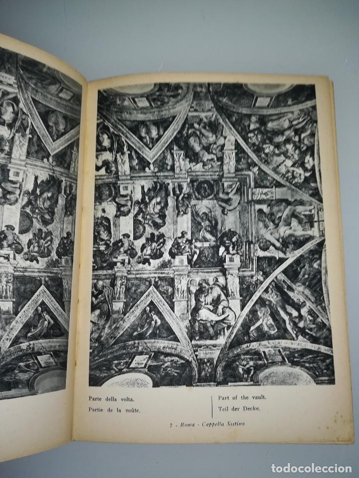 Libros antiguos: Michelangelo, pequeño libro muy ilustrado - Foto 6 - 107940719