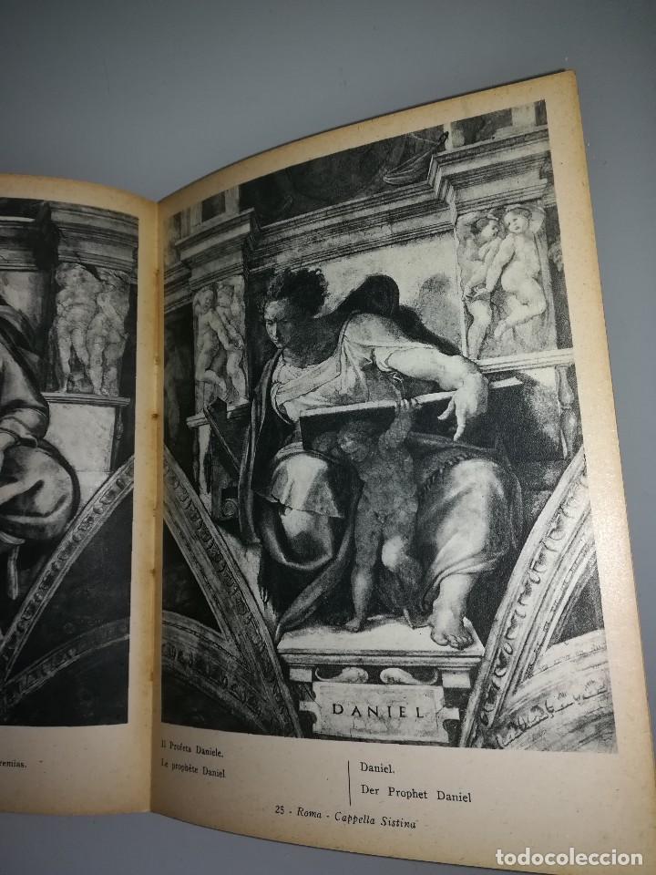 Libros antiguos: Michelangelo, pequeño libro muy ilustrado - Foto 7 - 107940719