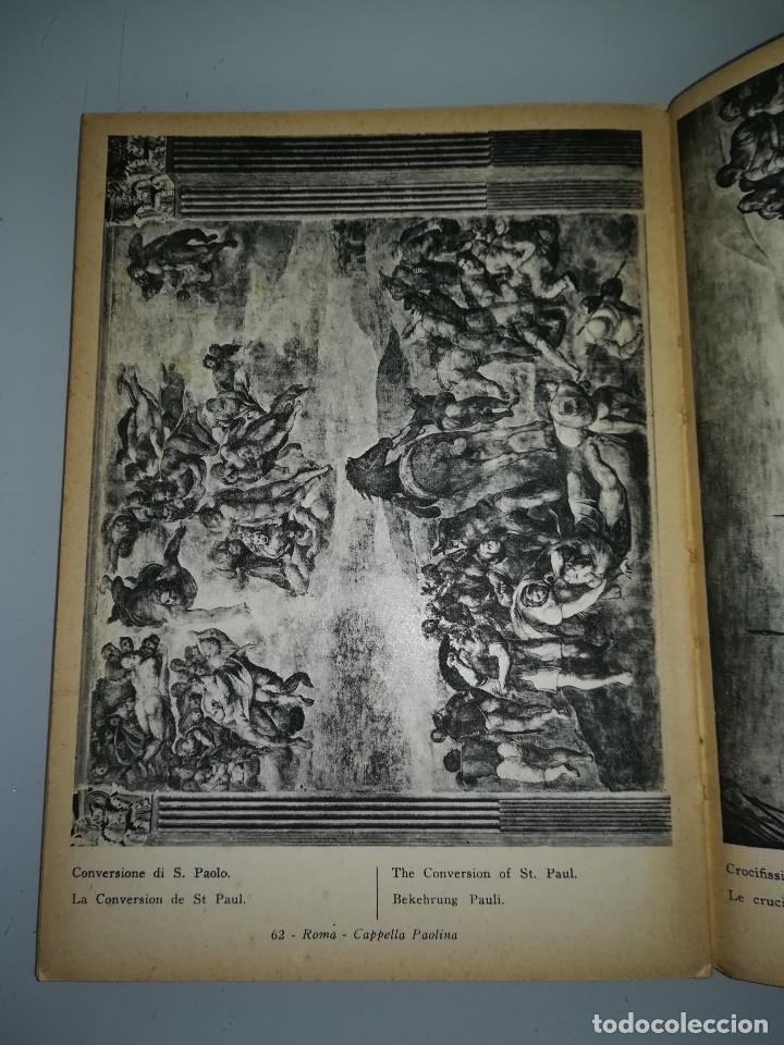 Libros antiguos: Michelangelo, pequeño libro muy ilustrado - Foto 8 - 107940719