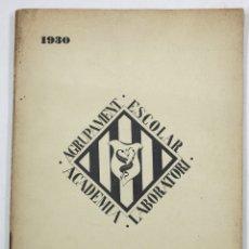 Libros antiguos: BOLETÍN CIÈNCIES MÈDIQUES DE CATALUNYA 1930, NÚMERO EXTRAORDINARIO SOBRE SURREALISMO. 17X24,5CM ARTE. Lote 108983947