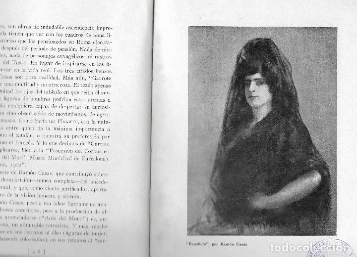 Libros antiguos: ARTISTAS CATALANES - MADRID 1929 - BIBLIOTECA ASCASIBAR - POR PEDRO G. CAMIO - VER FOTOS - Foto 2 - 109302123