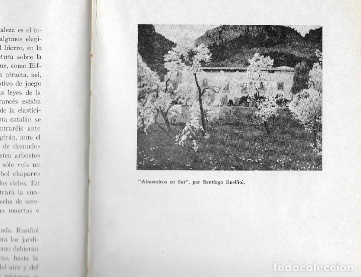 Libros antiguos: ARTISTAS CATALANES - MADRID 1929 - BIBLIOTECA ASCASIBAR - POR PEDRO G. CAMIO - VER FOTOS - Foto 6 - 109302123