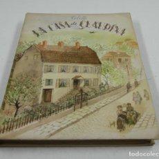 Libros antiguos: LA CASA DE CLAUDIA, COLETTE, 1943, ILUSTRACIONES OLGA SACHAROFF, ED. MEDITERRÁNEAS. 18,5X24,5CM. Lote 109350875