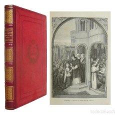 Libros antiguos: 1884 - PINTURA - ARTE - ILUSTRADO CON GRABADOS Y UN DIBUJO ORIGINAL DE MARGARITA, REINA DE NAVARRA . Lote 109466235