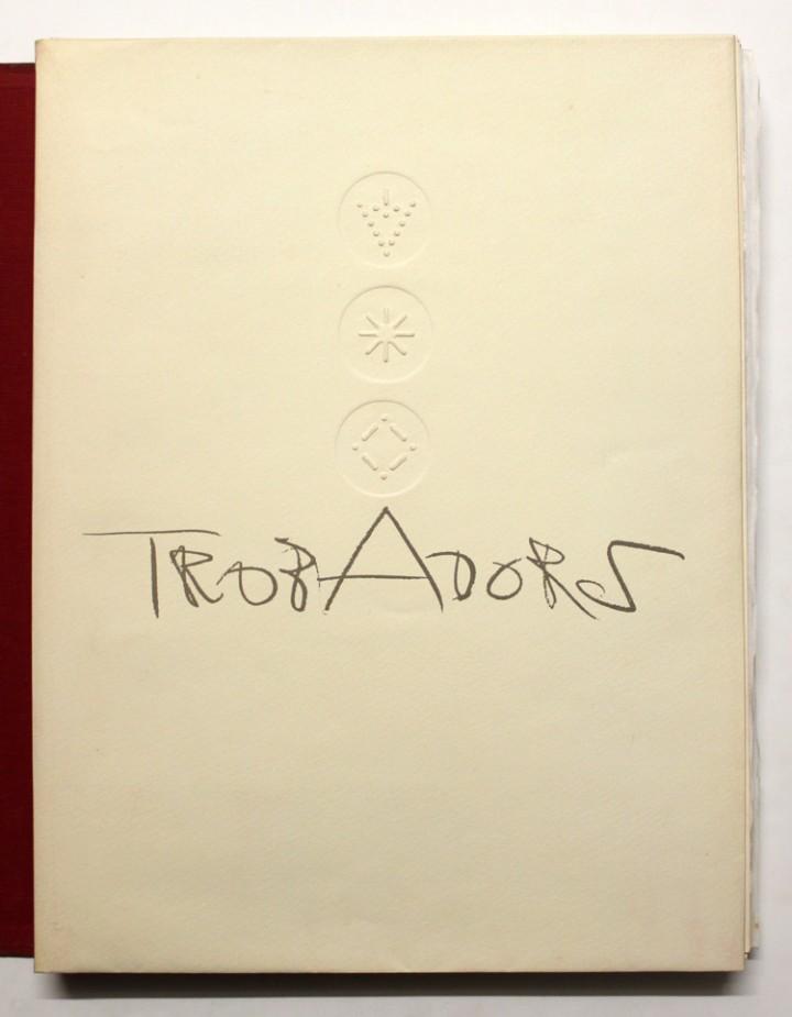 Libros antiguos: TROBADORS. - CLAVÉ, Antoni. - Foto 5 - 109023822