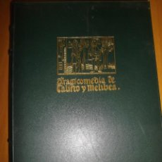 Libros antiguos: LA CELESTINA DE FRANCISCO DE ROJAS . AGUAFUERTES DE CELEDONIO PERELLON. Lote 111424759
