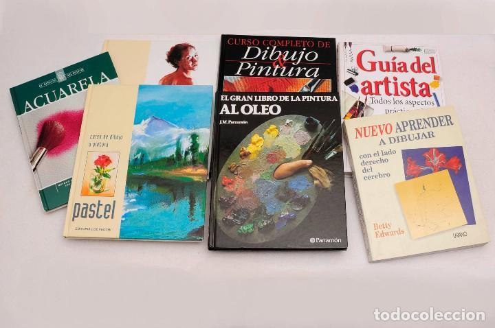 GUÍA DEL ARTISTA – CURSO COMPLETO DE DIBUJO & PINTURA - EL RINCÓN DEL PINTOR. ACUARELA (7 LIBROS) (Libros Antiguos, Raros y Curiosos - Bellas artes, ocio y coleccion - Pintura)