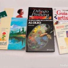 Libros antiguos: GUÍA DEL ARTISTA – CURSO COMPLETO DE DIBUJO & PINTURA - EL RINCÓN DEL PINTOR. ACUARELA (7 LIBROS). Lote 111449519