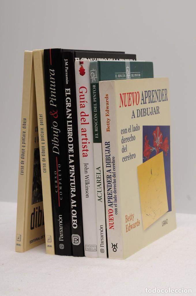 Libros antiguos: GUÍA DEL ARTISTA – CURSO COMPLETO DE DIBUJO & PINTURA - EL RINCÓN DEL PINTOR. ACUARELA (7 LIBROS) - Foto 2 - 111449519