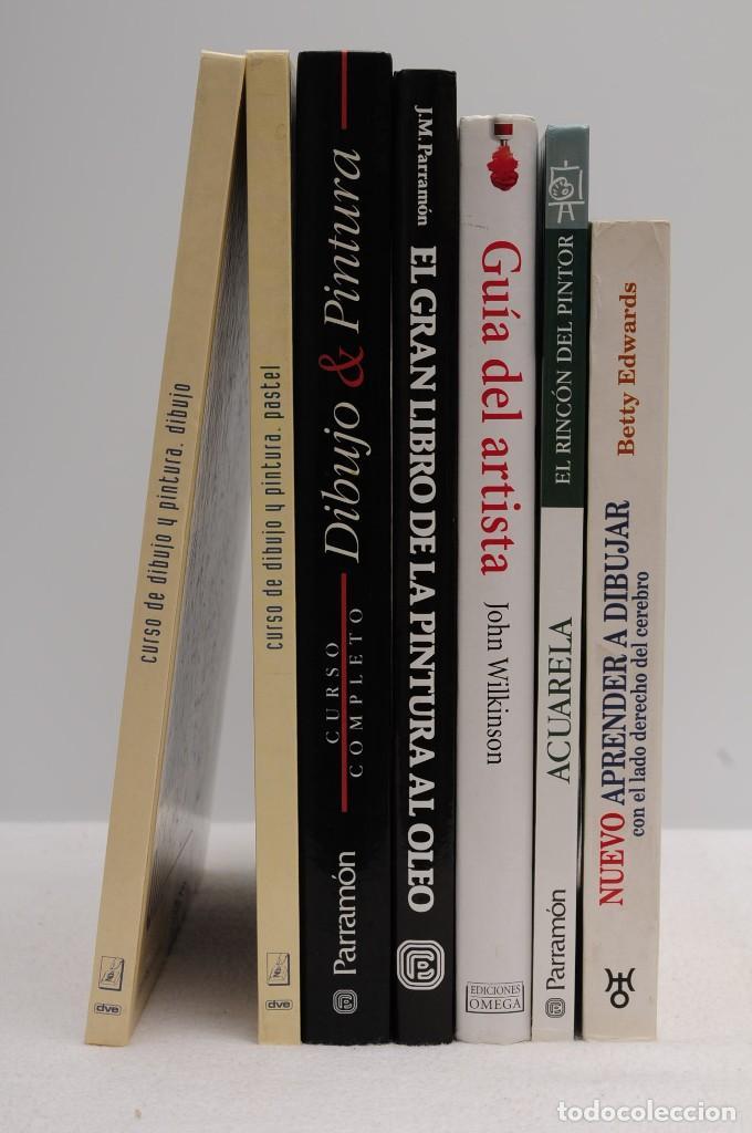 Libros antiguos: GUÍA DEL ARTISTA – CURSO COMPLETO DE DIBUJO & PINTURA - EL RINCÓN DEL PINTOR. ACUARELA (7 LIBROS) - Foto 3 - 111449519