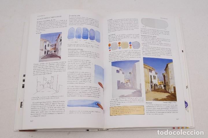 Libros antiguos: GUÍA DEL ARTISTA – CURSO COMPLETO DE DIBUJO & PINTURA - EL RINCÓN DEL PINTOR. ACUARELA (7 LIBROS) - Foto 21 - 111449519
