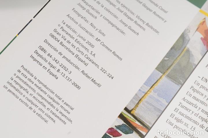 Libros antiguos: GUÍA DEL ARTISTA – CURSO COMPLETO DE DIBUJO & PINTURA - EL RINCÓN DEL PINTOR. ACUARELA (7 LIBROS) - Foto 28 - 111449519