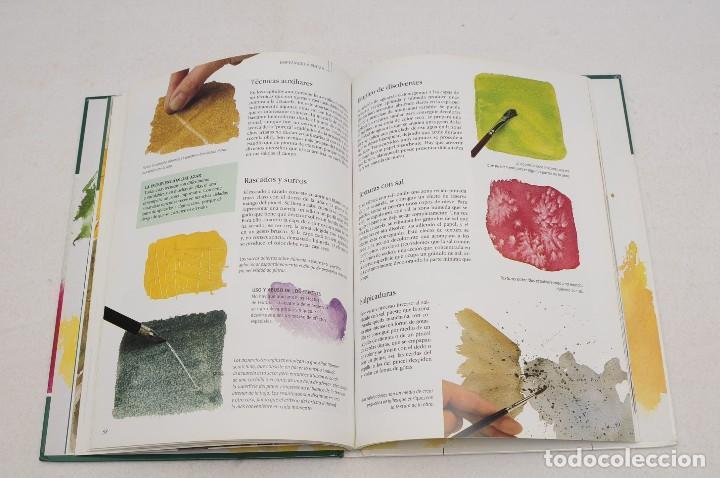 Libros antiguos: GUÍA DEL ARTISTA – CURSO COMPLETO DE DIBUJO & PINTURA - EL RINCÓN DEL PINTOR. ACUARELA (7 LIBROS) - Foto 30 - 111449519