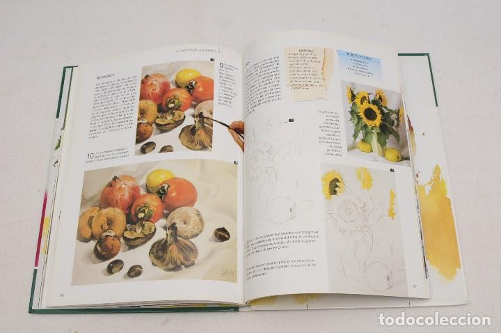 Libros antiguos: GUÍA DEL ARTISTA – CURSO COMPLETO DE DIBUJO & PINTURA - EL RINCÓN DEL PINTOR. ACUARELA (7 LIBROS) - Foto 31 - 111449519