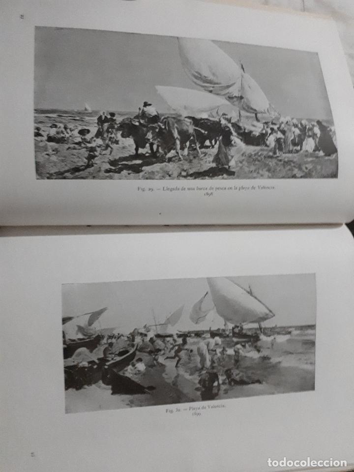 Libros antiguos: SOROLLA SU VIDA Y SU ARTE CON 116 ILUSTRACIONES MADRID 1910 - Foto 3 - 112659575