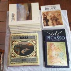Libros antiguos: 10 LIBROS DE PINTORES FAMOSOS ILUSTRADOS. Lote 113401987