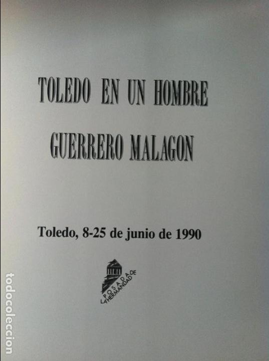 Libros antiguos: GUERRERO MALAGON TOLEDO EN UN HOMBRE - Foto 3 - 218434761