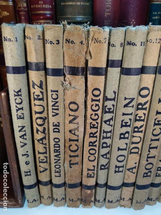 Libros antiguos: COLECCIÓN DE 11 LIBROS LOS GRANDES PINTORES - Nº 1,2,3,4,7,8,11,12,14,20 Y 24 - PARIS - CIRCA 1920 - - Foto 2 - 117412607