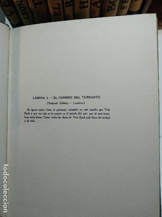 Libros antiguos: COLECCIÓN DE 11 LIBROS LOS GRANDES PINTORES - Nº 1,2,3,4,7,8,11,12,14,20 Y 24 - PARIS - CIRCA 1920 - - Foto 6 - 117412607