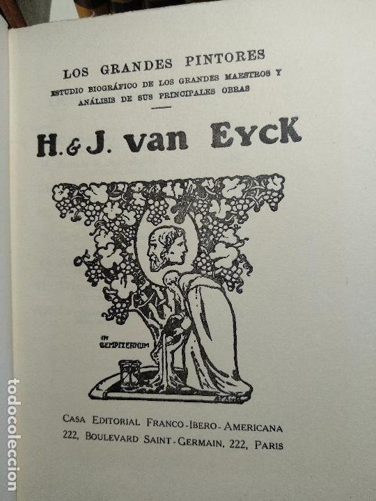 Libros antiguos: COLECCIÓN DE 11 LIBROS LOS GRANDES PINTORES - Nº 1,2,3,4,7,8,11,12,14,20 Y 24 - PARIS - CIRCA 1920 - - Foto 8 - 117412607