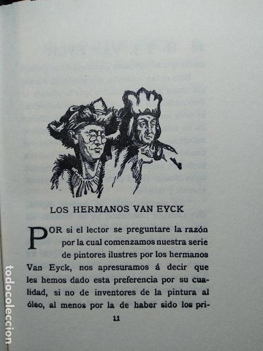Libros antiguos: COLECCIÓN DE 11 LIBROS LOS GRANDES PINTORES - Nº 1,2,3,4,7,8,11,12,14,20 Y 24 - PARIS - CIRCA 1920 - - Foto 10 - 117412607