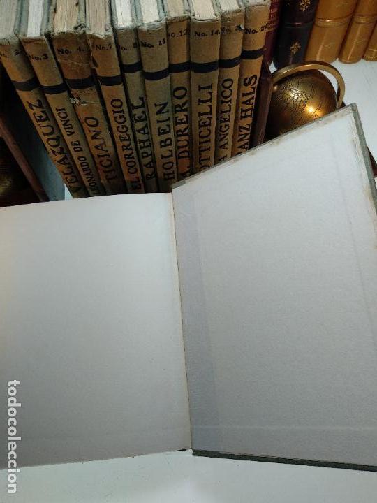 Libros antiguos: COLECCIÓN DE 11 LIBROS LOS GRANDES PINTORES - Nº 1,2,3,4,7,8,11,12,14,20 Y 24 - PARIS - CIRCA 1920 - - Foto 13 - 117412607