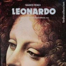 Libros antiguos: EXCELENTE LIBRO SOBRE EL PINTOR LEONARDO. Lote 118657763