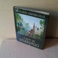 Libros antiguos: REGINE DAPRA Y HERMANN BAUER - ALBUM DE SALZBURGO - RESIDENZ VERLAG 1974. Lote 120595995