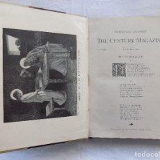 Libros antiguos: LIBRERIA GHOTICA. THE CENTURY MAGAZINE. DICIEMBRE 1891. FOLIO. ILUSTRADO CON MULTITUD DE GRABADOS. Lote 122199419