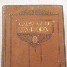 Libros antiguos: GALERIAS DE EUROPA. MUSEOS ALEMANES. EDITORIAL LABOR 1925. Lote 123024639