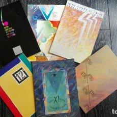 Libros antiguos: LOTE 6 CATALOGOS CERTAMEN INTERNACIONAL CONCELLO DE CAMBRE (4º-5º-6º-8º-11º-12º). Lote 124012279