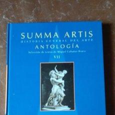 Libros antiguos: SUMMA ARTIS,SIGLOS:XVII/XVIII EN EUROPA.. Lote 124618239