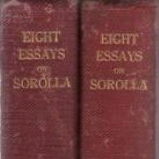 Libros antiguos: EIGHT ESSAYS ON JOAQUIN SOROLLA Y BASTIDA. 2 VOLS. 1909. Lote 39180614