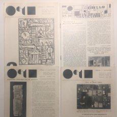 Libros antiguos: JOAQUÍN TORRES-GARCÍA. CÍRCULO Y CUADRADO. NÚMEROS 3,4,7 Y 8-9-10. Lote 125479851