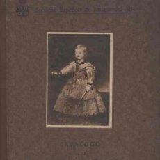 Libros antiguos: CATÁLOGO DE LA EXPOSICIÓN DE RETRATOS NIÑO EN ESPAÑA. MADRID 1925. Lote 126290163