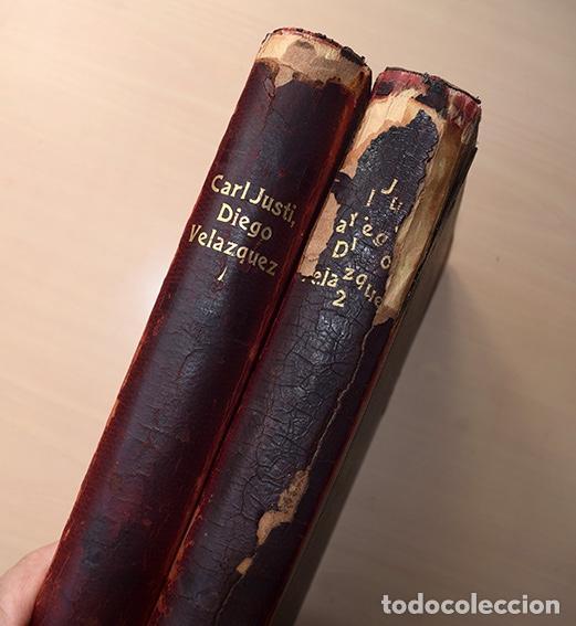 Libros antiguos: Diego Velazquez und sein Jahrhundert (Velázquez y su siglo) - Carl Justi - Bonn, Cohen, 1903 - Foto 4 - 126309267