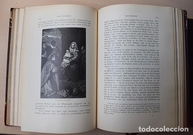 Libros antiguos: Diego Velazquez und sein Jahrhundert (Velázquez y su siglo) - Carl Justi - Bonn, Cohen, 1903 - Foto 6 - 126309267