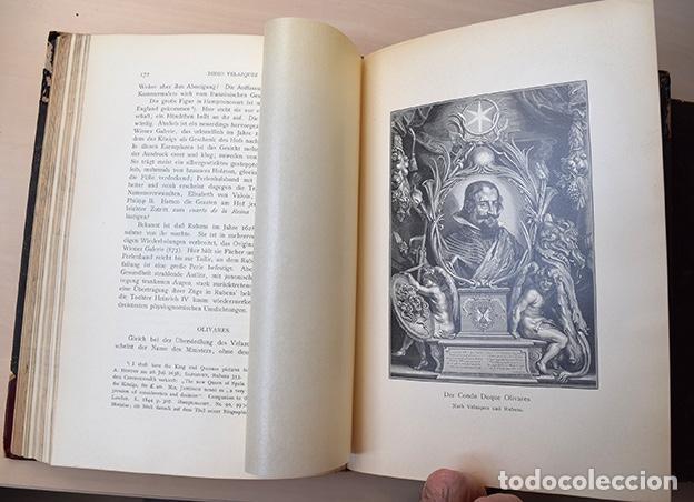 Libros antiguos: Diego Velazquez und sein Jahrhundert (Velázquez y su siglo) - Carl Justi - Bonn, Cohen, 1903 - Foto 8 - 126309267