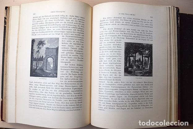 Libros antiguos: Diego Velazquez und sein Jahrhundert (Velázquez y su siglo) - Carl Justi - Bonn, Cohen, 1903 - Foto 10 - 126309267