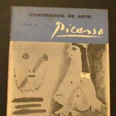 Libros antiguos: PICASSO - CUADERNOS DE ARTE. Lote 126365799