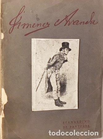 Libros antiguos: Pantorba : Jiménez Aranda (Ensayo biográfico y crítico). 1930 Autógrafo - Foto 2 - 128680111