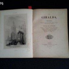Libros antiguos: POETAS, PINTORES Y NARRADORES. ILUSTRACIONES DE DIVERSOS LUGARES DE EUROPA. SEVILLA.. Lote 130108239