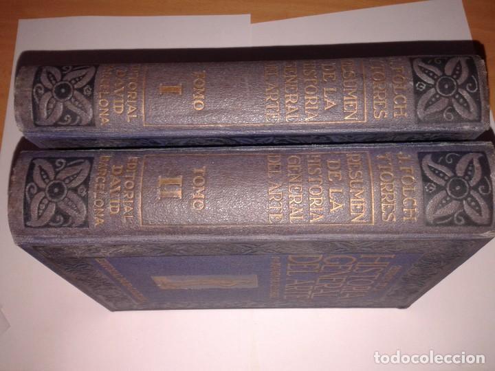 Libros antiguos: RESUMEN DE LA HISTORIA GENERAL DEL ARTE - Foto 3 - 130865236