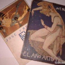 Libros antiguos: EL AÑO ARTISTICO 1920 - 1921 , JOSE FRANCES , 2 TOMOS. Lote 130898144