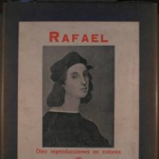 Libros antiguos: PALLOL, BENIGNO: RAFAEL. BARCELONA, CASA EDIT. ESTUDIO 1915.. Lote 131185288