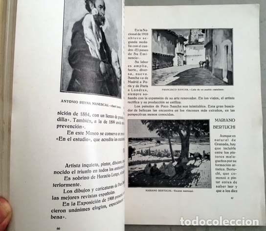Libros antiguos: Prados : Pintores malagueños contemporáneos (Málaga, 1933) Bernardo Ferrándiz; Emilio Ocón; J. Denis - Foto 2 - 131617626