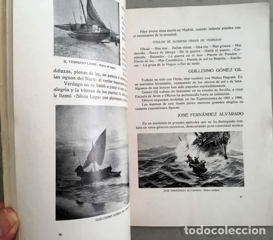 Libros antiguos: Prados : Pintores malagueños contemporáneos (Málaga, 1933) Bernardo Ferrándiz; Emilio Ocón; J. Denis - Foto 3 - 131617626